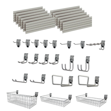 Garage Wall Storage StorePanel™ Kit  - 21 Accessories DSP162