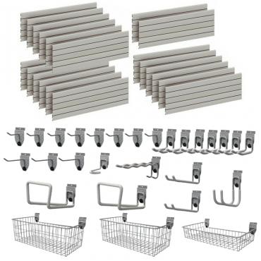 Garage Wall Storage StorePanel™ Kit  - 28 Accessories DSP163