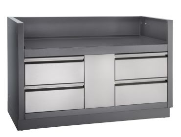 OASIS™ Under Grill Cabinet for Built-in PRO™ 825 Grill - NAPUGC825