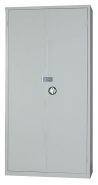 Steel Secure Cupboard  1830Hx915Wx457D EL3618ST with Hasp and Staple for Padlock