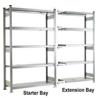 Galvanised Extension Bays