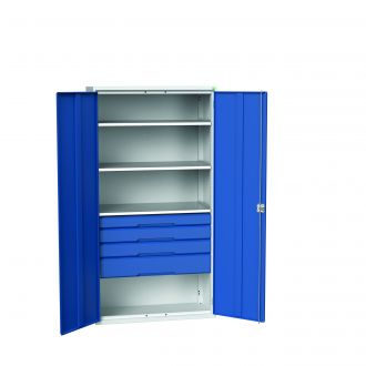 Bott Verso Drawer and Shelf Cabinets 2000mm High, 1050 Wide