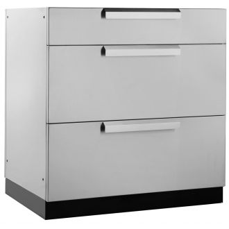 Outdoor Kitchen Three Drawer Cabinet - N65002