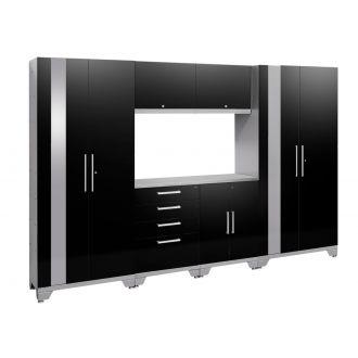 7 Piece Garage Cabinet Set N53556/54 Performance 2.0 High Gloss Black