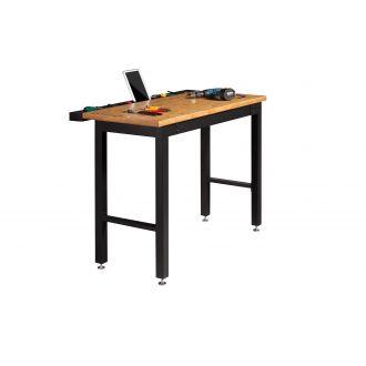 NewAge Garage Workbench N31041 - Width 48 inches, Bamboo Worktop