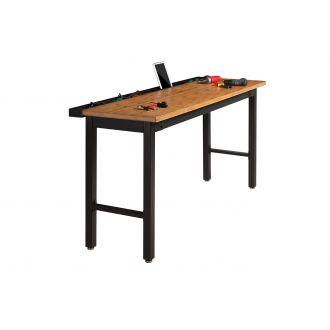 NewAge Garage Workbench N31061 - Width 72 inches, Bamboo Worktop