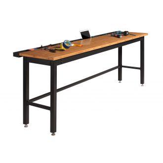 NewAge Garage Workbench N31081 - Width 96 inches, Bamboo Worktop