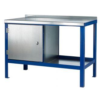 Heavy Duty Steel Top Workbenches