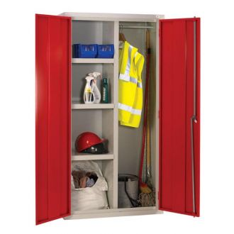 Shelf and Rail Cabinet 1830Hx915Wx460D J88M894R