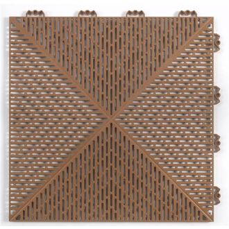 Outdoor PVC Tile - Terracotta