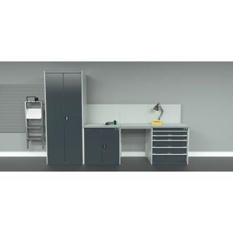 Bott Cubio 3 Cabinet Arrangement BC4PA