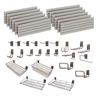 Garage Wall Storage Storewall Kit  - 23 Accessories DSW162