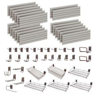 Garage Wall Storage Storewall Kit  - 32 Accessories DSW163