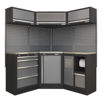 Sealey Corner Solution Cabinet Set SSLP06 - Superline Pro Range