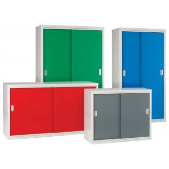 Sliding Door Cabinets - ideal for confined areas.