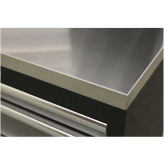 Stainless Steel Worktop - SSLPSTEEL