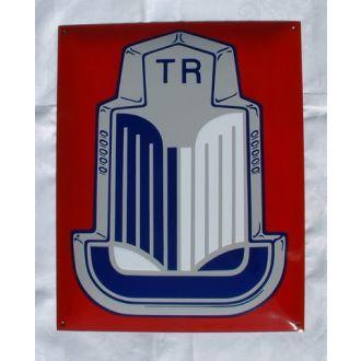Enamel Sign Triumph TR