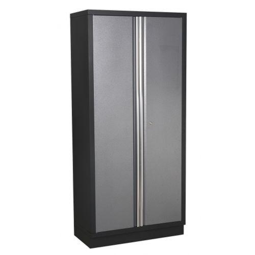 Sealey modular floor cabinet 2 door full height for Cabinet height from floor