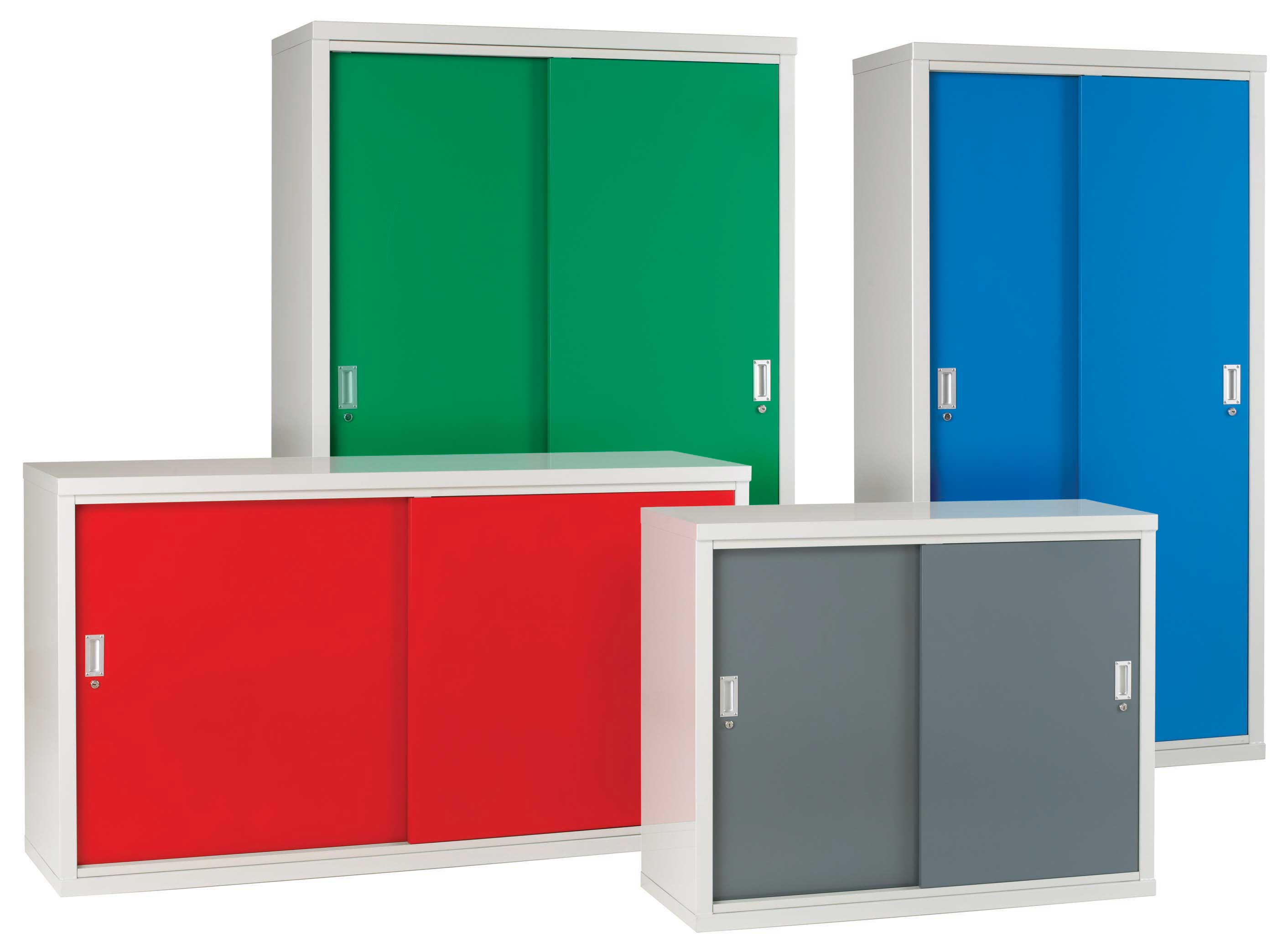 Steel Cabinets With Sliding Doors