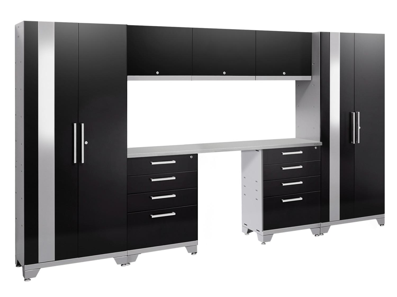 NewAge Performance black cabinet set