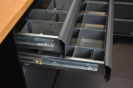 GaragePride EvoLine accessories drawer dividers