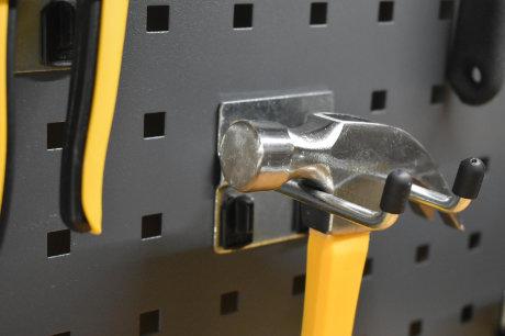 GaragePride back panel hooks
