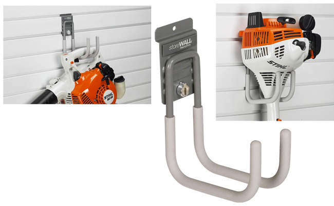 Garage wall storage hooks from GaragePride