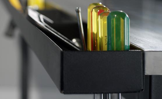 Workbench tool holder